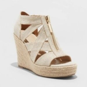 A New Day Size 11 Wedge Espadrilles
